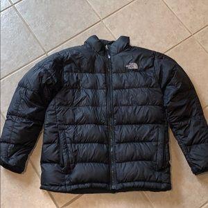 North face puffer coat 550